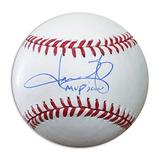 Jason Giambi Autografiado Mvb Oficial De Béisbol Inscrito Mv