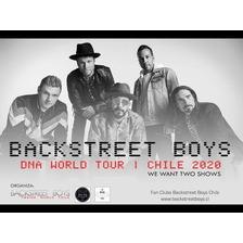 Entradas Backstreet Boys 2020 - Cancha | Miercoles 04/03