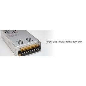 Fuente De Poder , Eliminador O Transformador 360w 12v 30a .