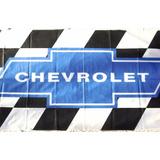 Bandera Chevrolet Cuadros 150 Cm X 75 Cm