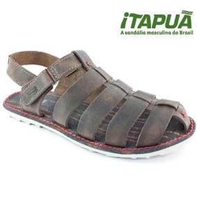 20%off Sandália Masculina Itapuã Couro Legítimo 14104s15