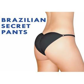 Calzón Con Relleno Brazilian Secret 3 Tallas Levanta Glúteo