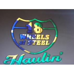 Dvd 18 Wheels Of Steel Haulin E Mod Brasil Pc.