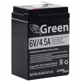 Bateria 6v 4,5ah Recarregavel Moto Elétrica Carro Brinquedo