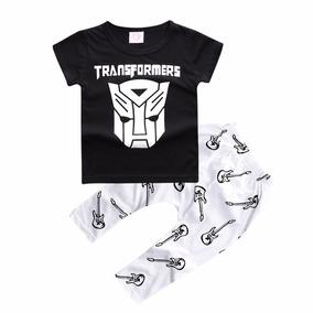Conjunto Infantil Transformers Coleção Rock Roll P/ 2 Anos