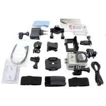 Kit Acessórios + Case Para Câmeras Sjcam Sportcam Eken Gopro