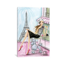 Pintura Arte World Traveler Paris Canvas Art Print By Bella