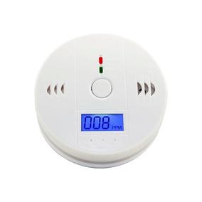 Detector De Fumaça Alarme Incêndio Monóxido De Carbono