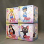 Lote De Figuras Sailor Moon Chibi Banpresto Set X 4 Unidades