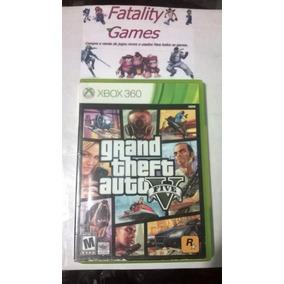 Gta 5 Original Para Xbox 360 (semi Novo)
