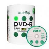 Cd Virgen Dvd 120min 4.7gb Pasta Morada Smart Buy Torre 100