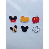 Kit 100 Apliques Para Colherzinha De Doce Mickey Minnie