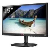 Monitor Led 19 Samsung Widescreen Lcd Con Garantia Zona Sur