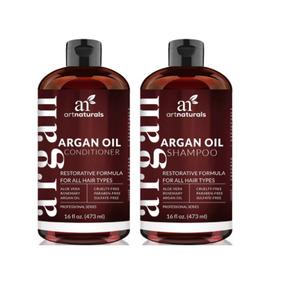 Shampoo Y Acondicionador Art Naturals Moroccan Argan Oil