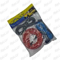 008 Kit Cable #4 4awg Nuevo Rally Car Audio Sonido Plantas