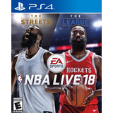 Nba Live 18 2018: The One Edition - Ps4 Digital - Tazgames