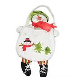 Decoración Muñeco De Nieve De Navidad Bolso De Mano D