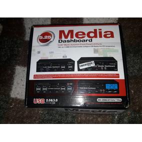 5.25 Media Dashboard Frontal Controlador Fan Cooler Pc