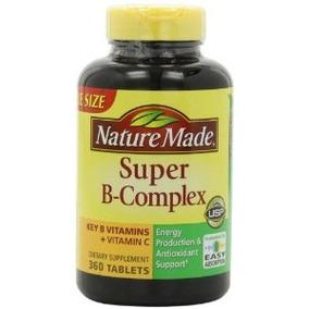 Nature Made Super B Complex Tabletas 1080 Conde Jumbo Tamaño