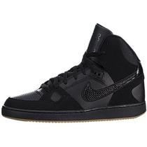 Nike Son Of Mid / Blk-gm Luz Brn-antracita Tamaño 8.5 Para