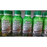 12 Unidades Óleo De Coco Extra Virgem 100% Natural 200 Ml