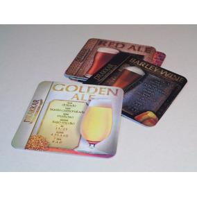 500 Posavasos Personalizados Cartón 1mm Impresos Laminados