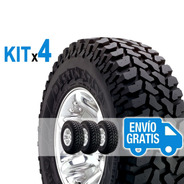 Kit 4u 215/80 R16 Q Destination M / T Firestone Envío $0
