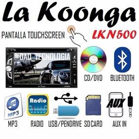Reproductor Pantalla Dvd De Carro Doble Dim Usb Bluetooth