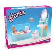 El Baño. Muebles De Muñecas Gloria