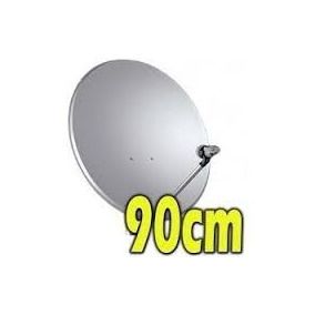 Antena Satélite Ku 90cm+lnb Universal+17m Cabo+frete Gratis