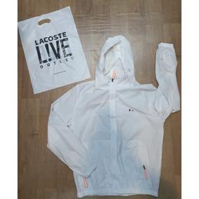 Jaqueta Lacoste Masculina Azul - Calçados, Roupas e Bolsas Branco no ... 74d175d671