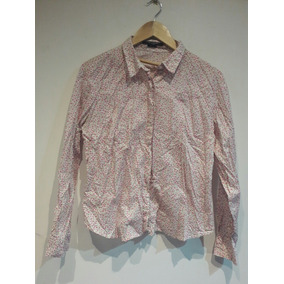 Camisa Kevingston Mujer Flores Talle 5