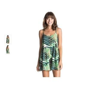 Roxy Monito Verde Estampado, Importado, Temporada 2017