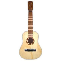 Guitarra Para Niños Paisanita De Madera Arval N° 6