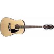 Guitarra Acústica Fender Cd-100-12 Nat V2 12 Cuerdas Natural