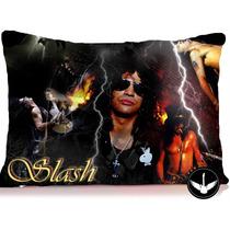 Almofada Slash Guns N Roses 30x40cm Com Enchimento
