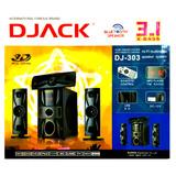 Teatro En Casa Djack Dj-303 Bluetooth, Fm, Mp3 + Regalo Dvd