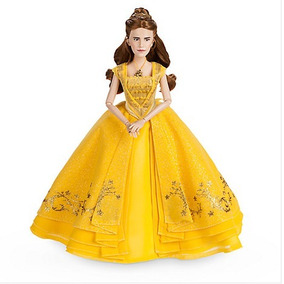 Boneca Belle Luxo Film Collection Disney A Bela E A Fera