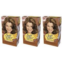 Soft Color Wella Kit 63 Caramelo Dorado X 3u Consulte Stock