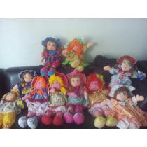 Muñecas De Trapos Grandes Todos Y Colores