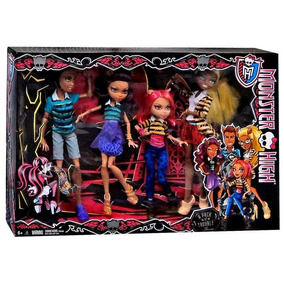 Monster High - Wolf Family Clawdeen, Howleen, Clawd, Clawdia