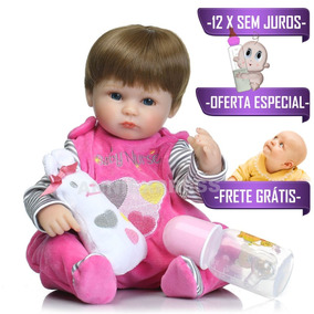 Bebe Reborn Frete Gratis + Brindes - Ultimas Unidades