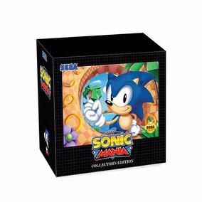 Jogo Coleção Sonic Mania Collectors Edition Nintendo Switch