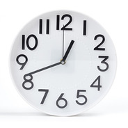 Reloj De Pared Grande Silencioso Números Grandes Nórdico