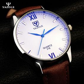 Relógio Masculino Yazole Social Luxo A Prova D