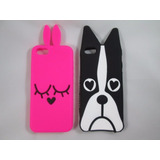 Capa Case Iphone 5 5s 5c Se 6 6s 7 Marc Jacobs Boston Dog