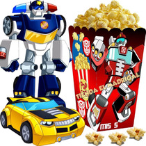 Kit Imprimible Transformers Rescue Bots - Decoracion, Fiesta