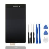 Hyyt Pantaleto Sony Xperia M4 Aqua E2303 E2306 E2353 (negro)