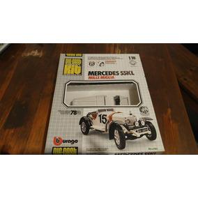 Maqueta Burago Mercedes Sskl Mille Miglia Di-cast 1:18