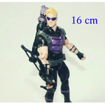 Boneco Action Figure Gavião Arqueiro 16 Cm Vingadores Marvel